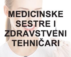 Medicinske sestre i zdravstveni tehnicari